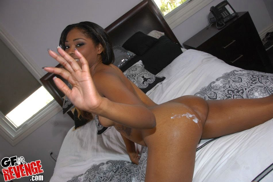 Black Girl Cum In Ass